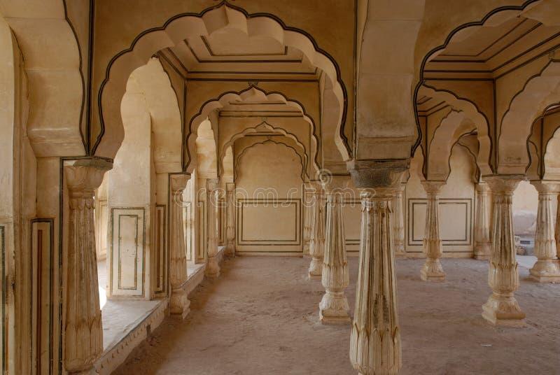 Interiores do palácio fotografia de stock royalty free