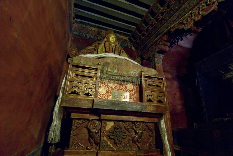 Interiores do palácio imagem de stock