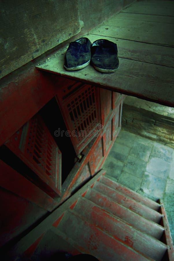 Interiores do templo fotos de stock royalty free