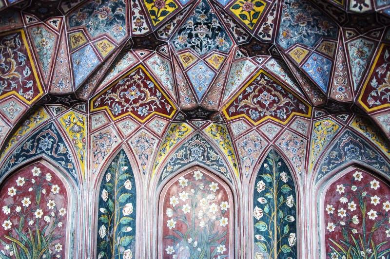 Interiores e trabalho de arte históricos fotografia de stock royalty free