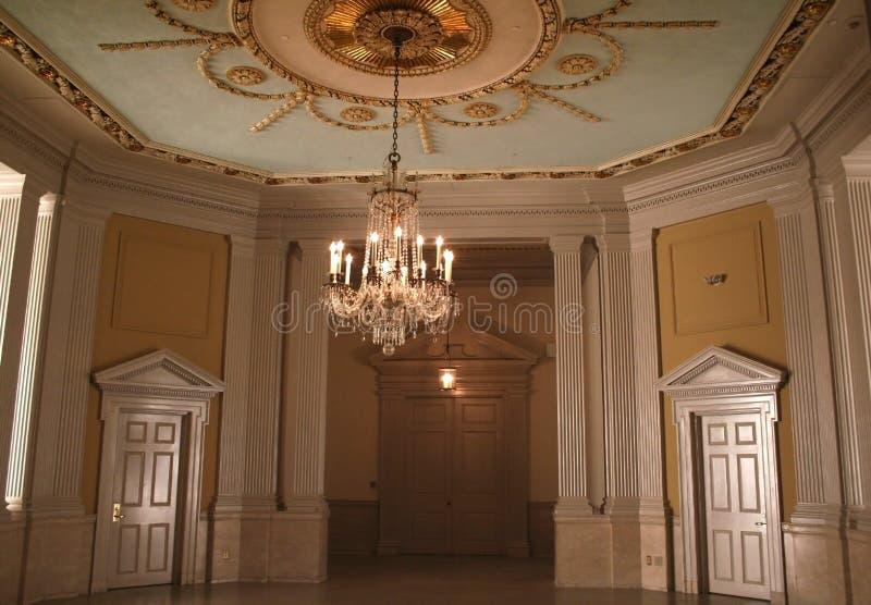 Interiores luxuosos foto de stock