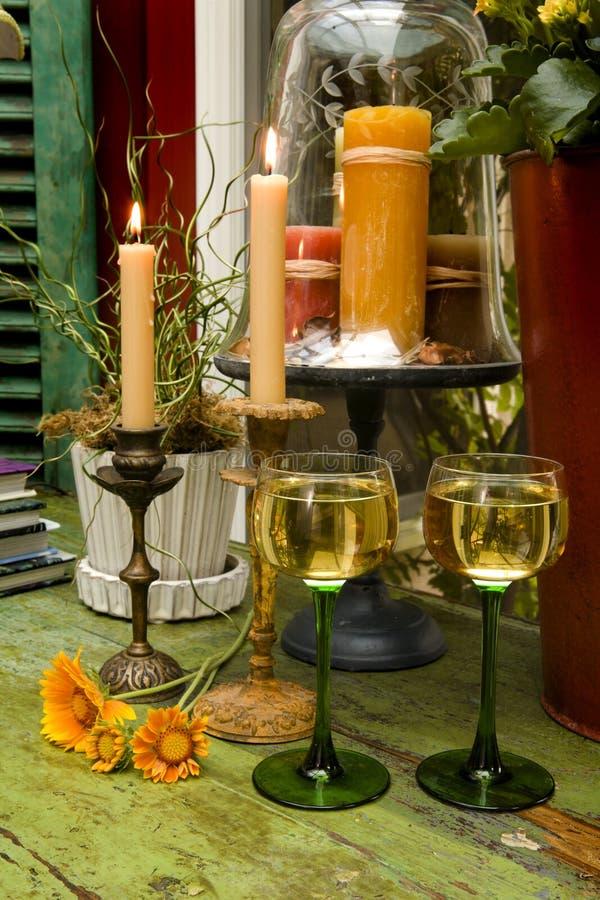 Interiori del vino immagine stock libera da diritti