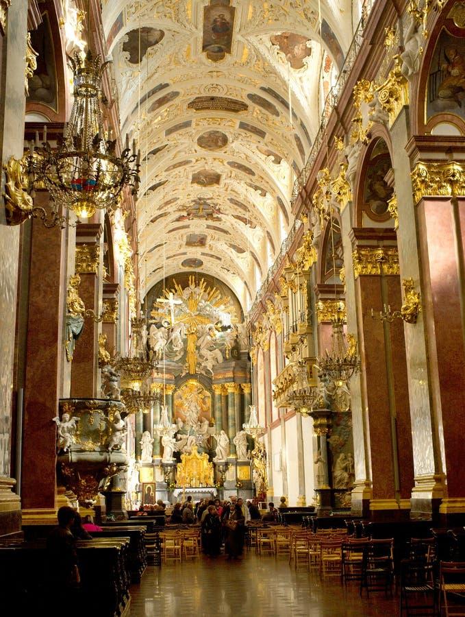 Interiors Of Jasna Gora Monastery In Czestochowa Editorial ...