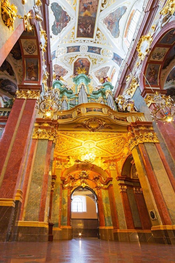 Interiors of Jasna Gora monastery in Czestochowa