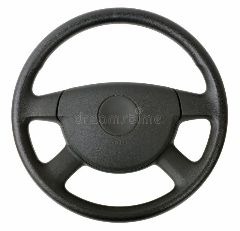 Interiortransportation de la direction wheel images libres de droits