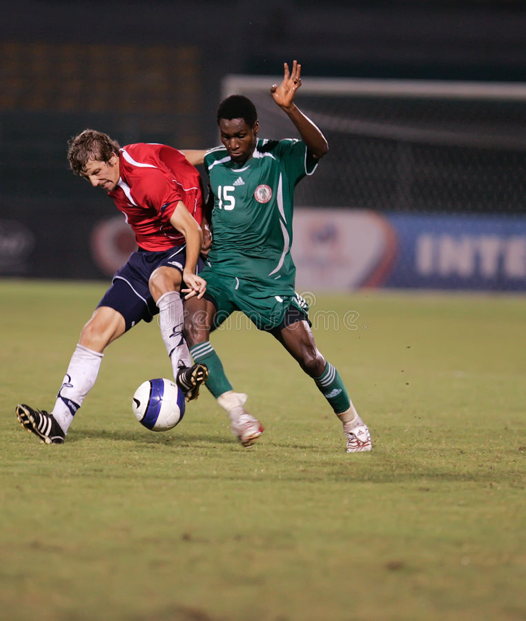 Interkontinentalmeisterschaft des Fußball-U-23 stockfoto