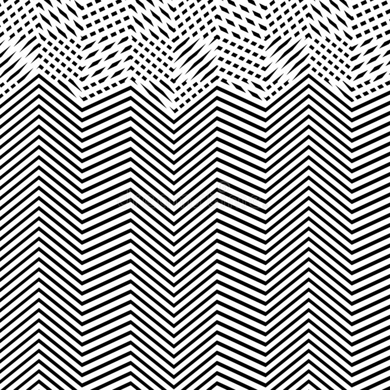 Interlace, interlocking lines. Curve, flex intersecting lines grid, mesh. Interweaved waving, zig-zag lines. Combined, merging. Lines, stripes pattern vector illustration