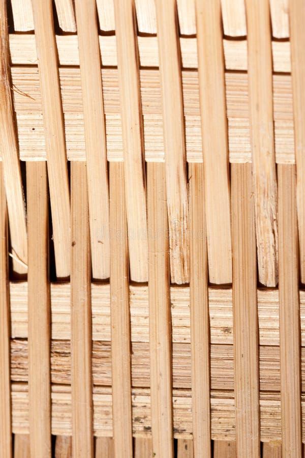 Interlaced bamboo weave