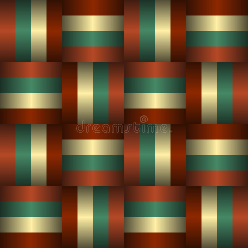 Download Interlaced Ribbons Seamless Pattern Stock Vector - Image: 31348250