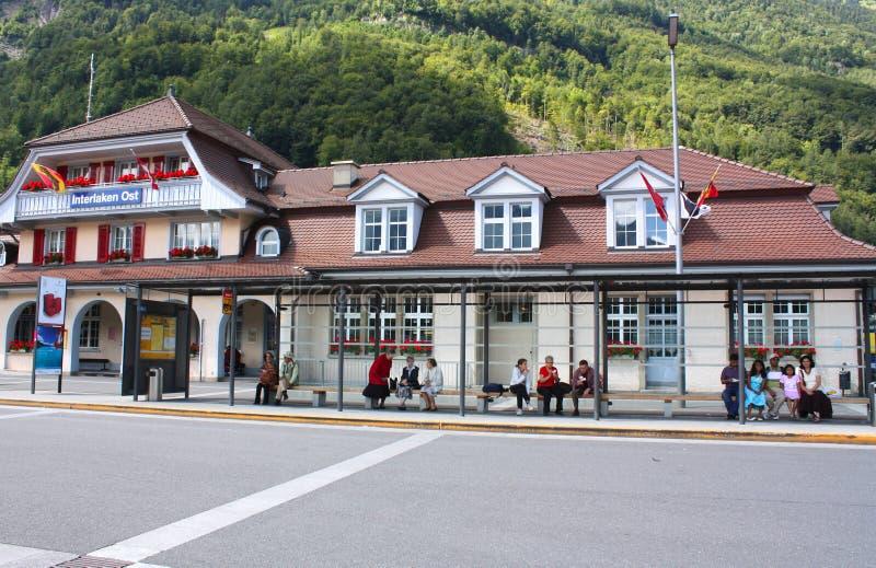 Interlaken Ost royaltyfri bild