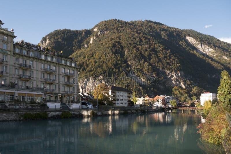 Interlaken, Szwajcaria obrazy royalty free