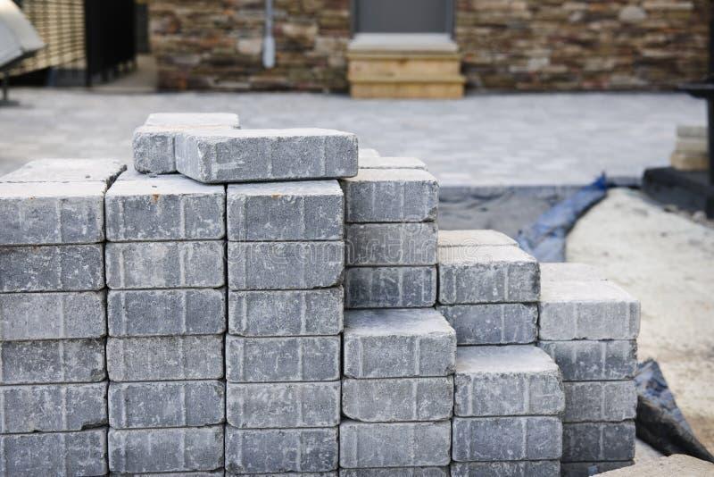 Download Interlocking Stone Driveway Stock Photo - Image: 14668446