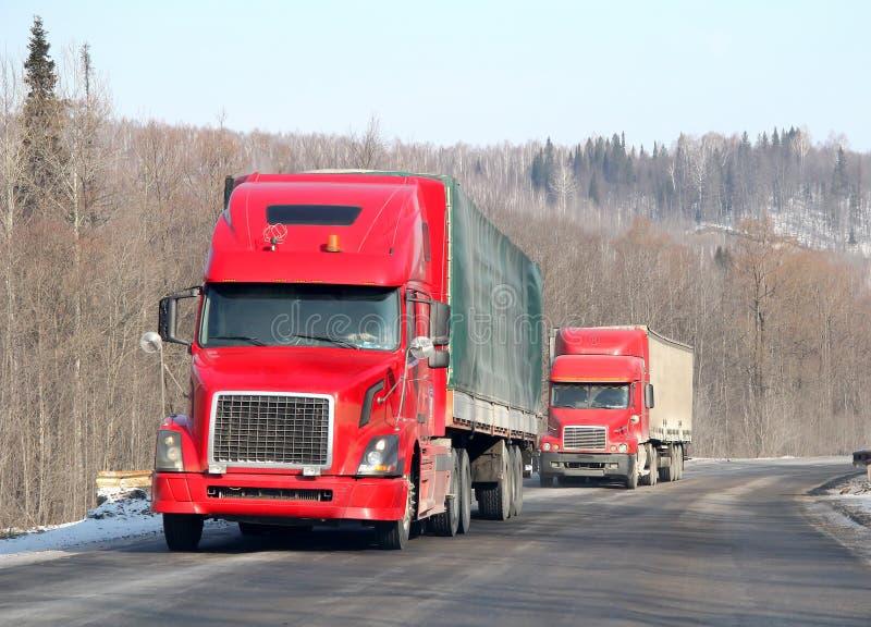 Interlokale snelweg royalty-vrije stock afbeelding