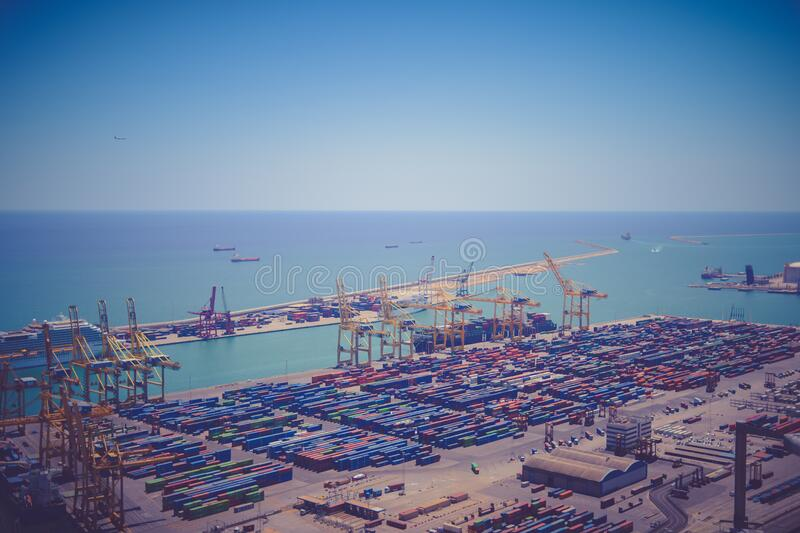 Intermodal Container Port During Daytime Free Public Domain Cc0 Image