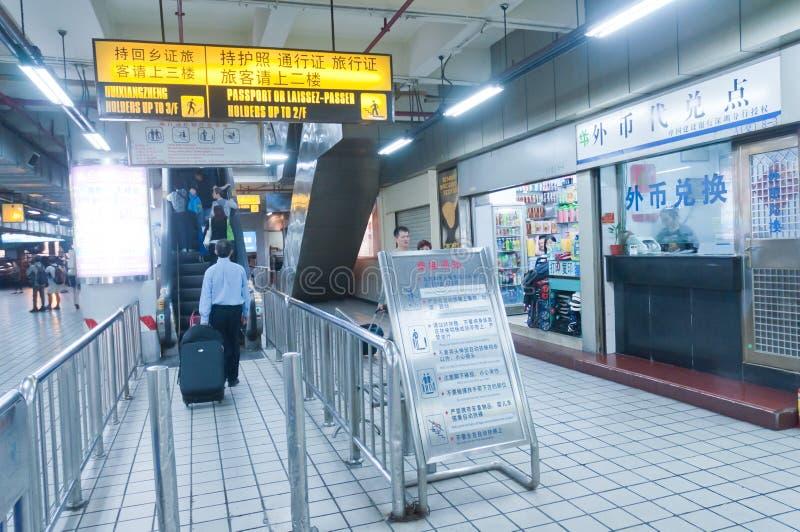 Intern Luobao port fotografering för bildbyråer