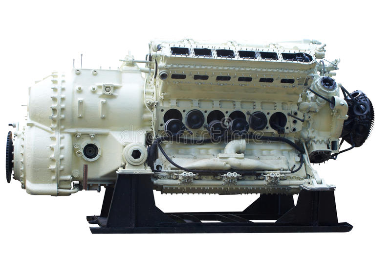 intern stor förbränningsmotor royaltyfri bild