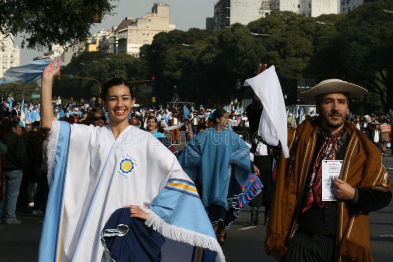 internacional фольклора aires buenos de празднества стоковая фотография