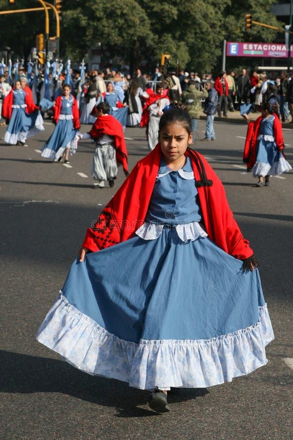 internacional фольклора aires buenos de празднества стоковая фотография rf