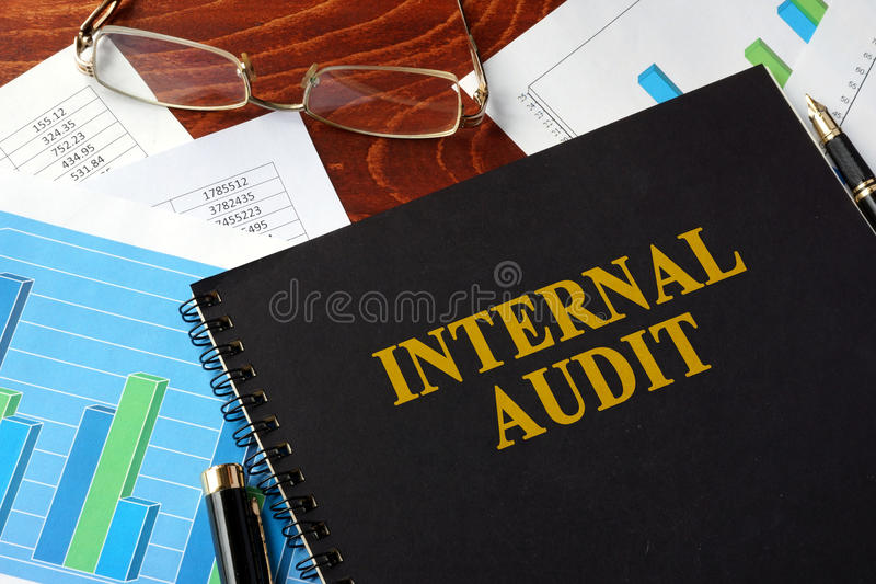 Internal Audit. stock photography
