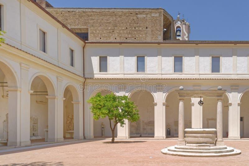 Internal courtyard stock photo