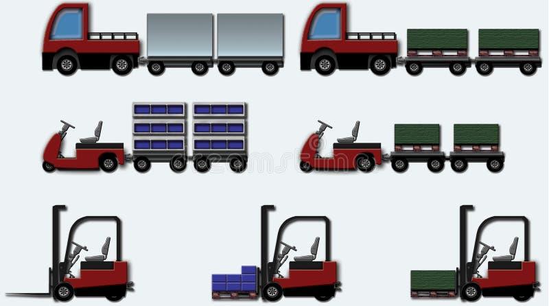 Internal_logistic3 ilustração royalty free