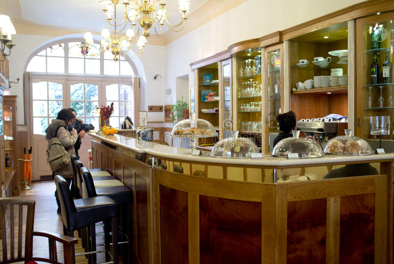Download Coffee Bar In Prague Editorial Stock Photo - Image: 30125753