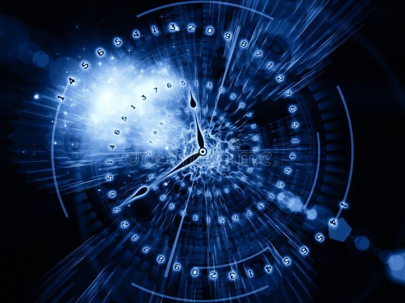 Internals времени бесплатная иллюстрация