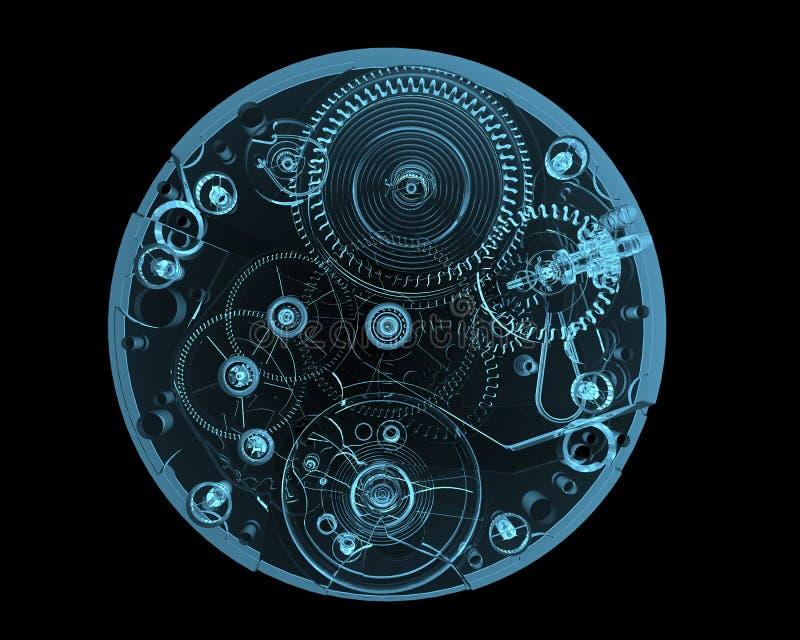 Internals del reloj libre illustration
