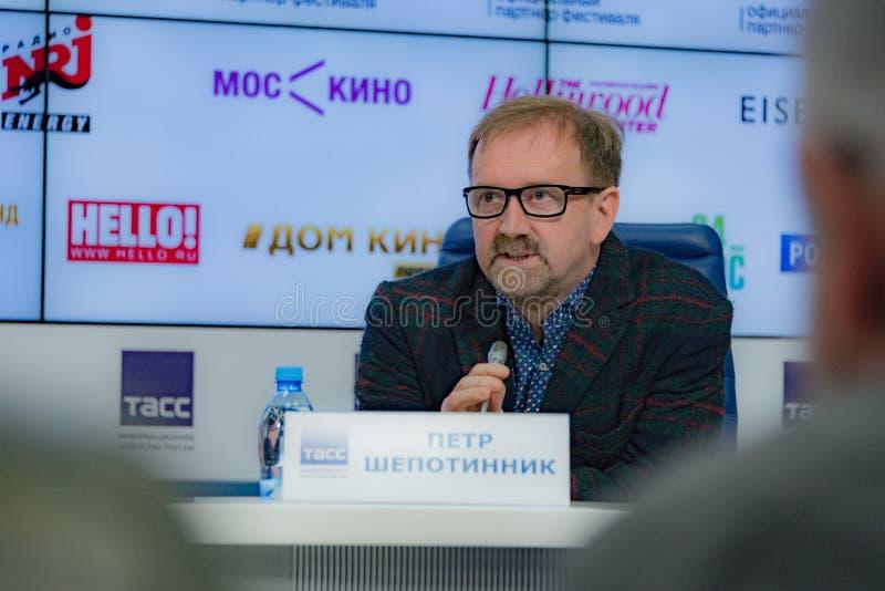 De Beroemdheden In Moskou Filmen Festival Redactionele