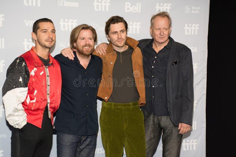 2017 Internationaal de Filmfestival van Toronto - de Première van ` Borg/McEnroe ` - Rood Tapijt stock afbeeldingen