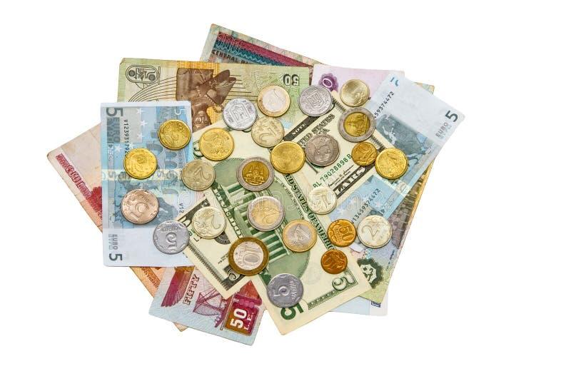 Internationaal geld stock foto's