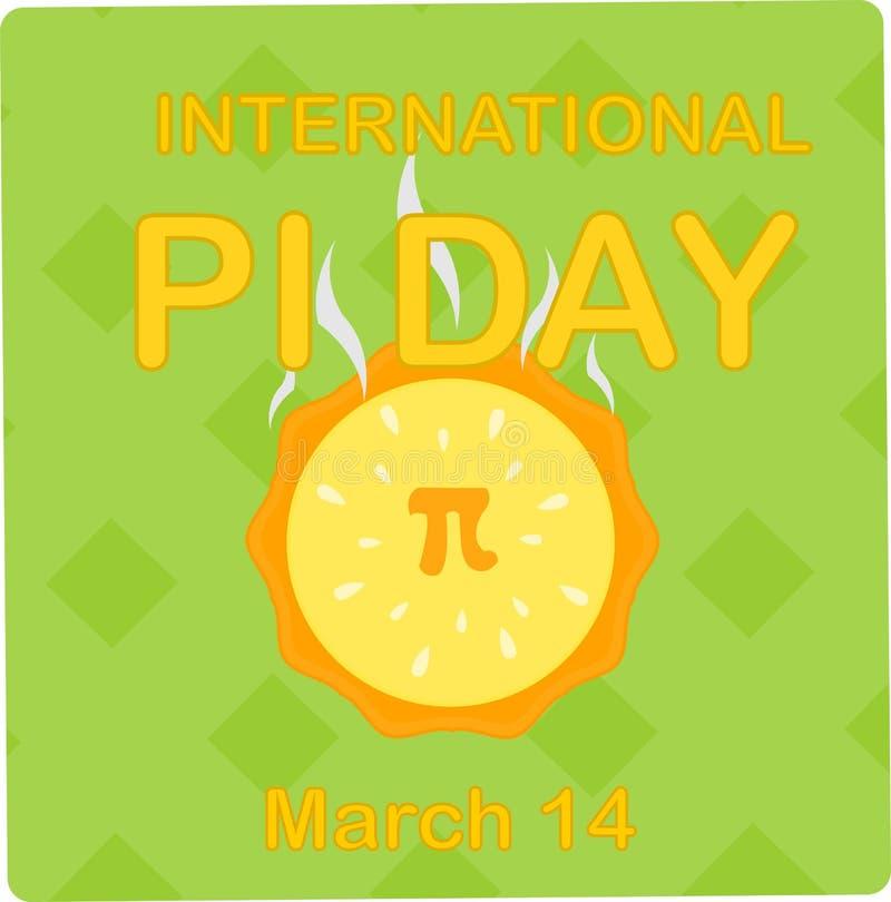 Internationaal pi dag 14 maart royalty-vrije stock foto