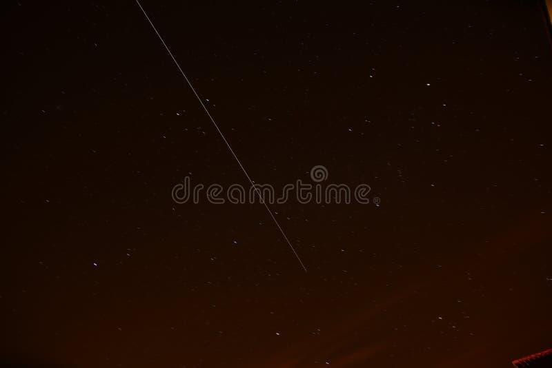 Internationaal Ruimtestation (ISS) royalty-vrije stock foto's