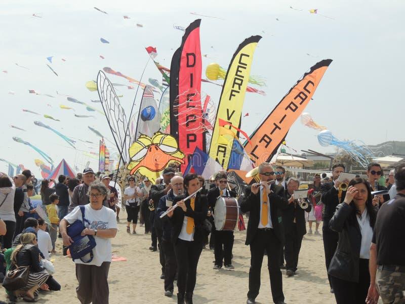 Internationaal Vliegerfestival royalty-vrije stock fotografie
