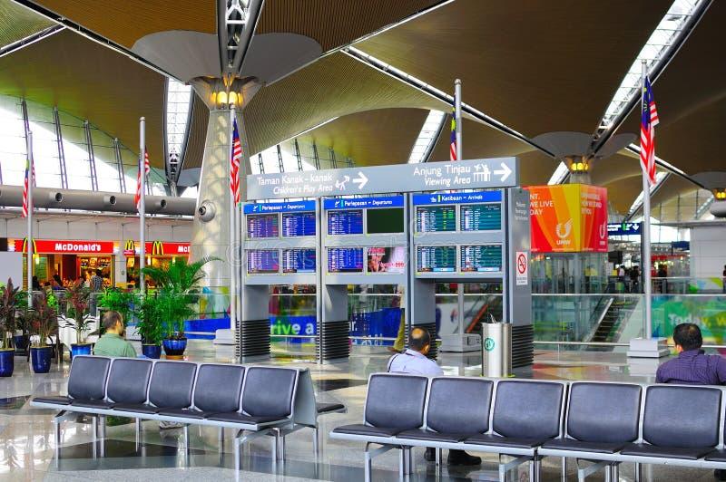 international Куала Лумпур авиапорта стоковое изображение