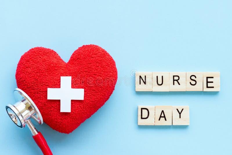 International нянчит день, 12-ое мая Здравоохранение и медицинская концепция стоковые изображения