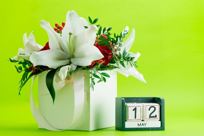 International 12-ое мая календаря нянчит день стоковое фото rf