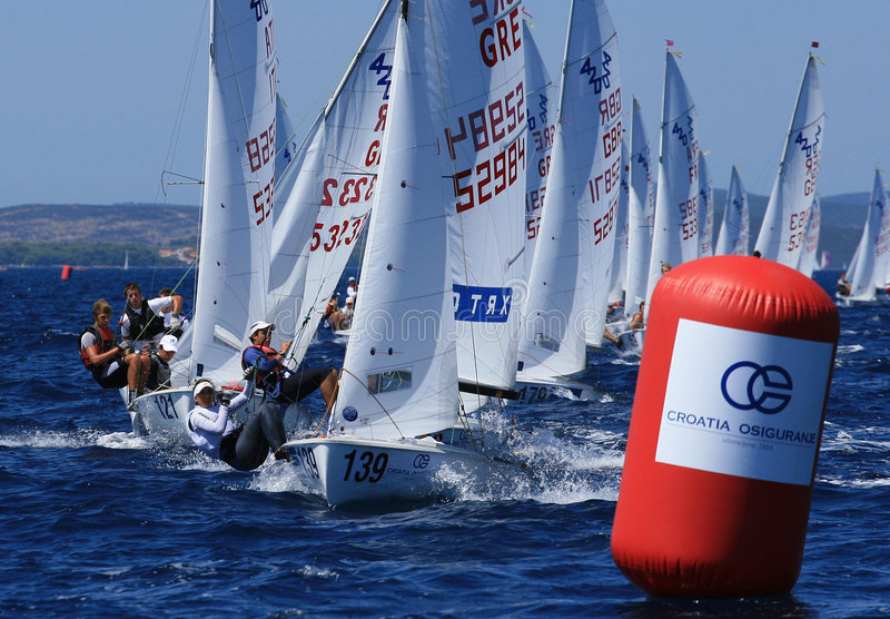 Download International 420 class editorial stock image. Image of regatta - 8509639