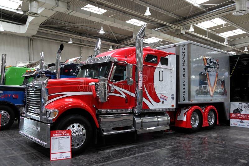 International 9990i Eagle Truck Editorial Stock Image