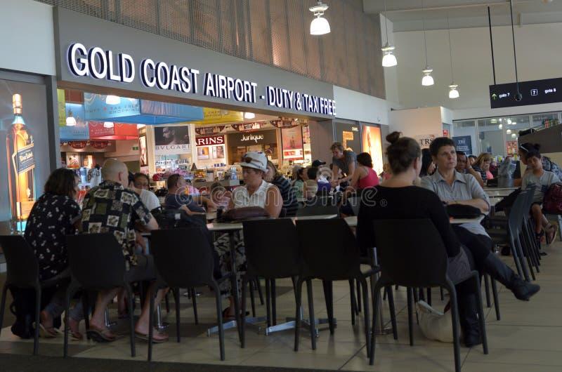 International Airpor de la Gold Coast photo libre de droits