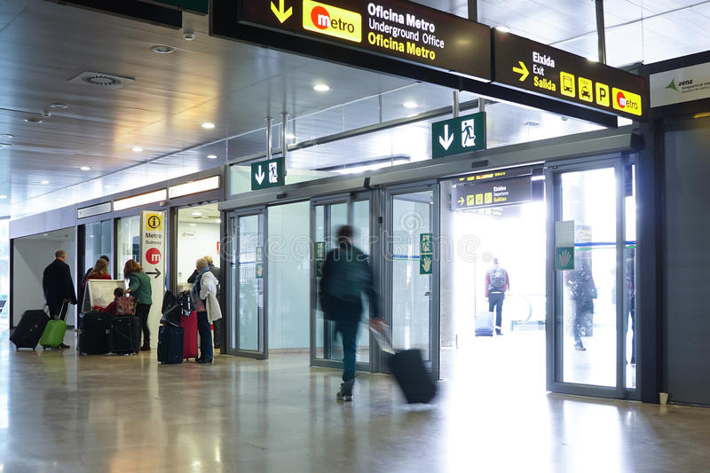 International Airport stock image