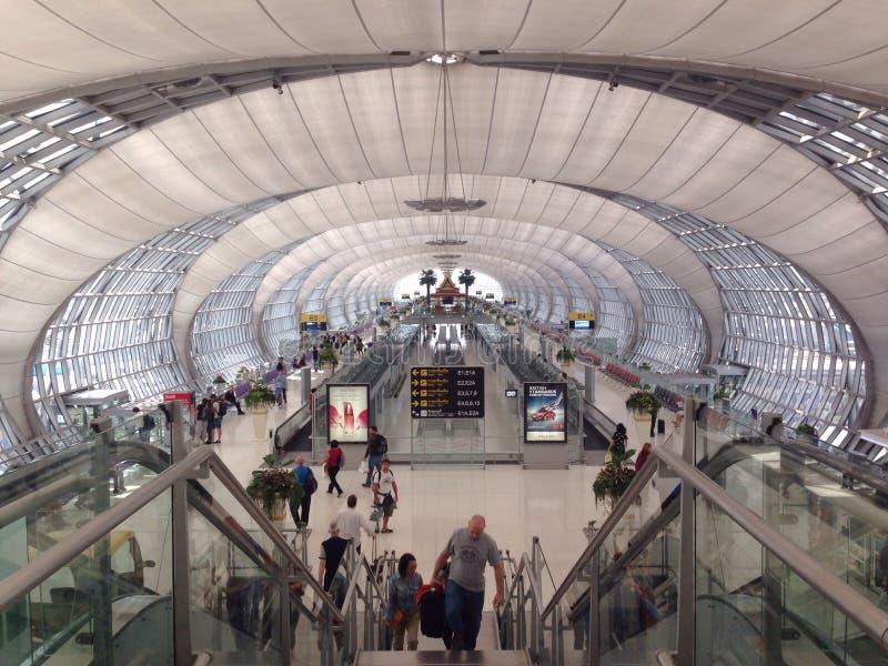 international bangkok авиапорта стоковое фото
