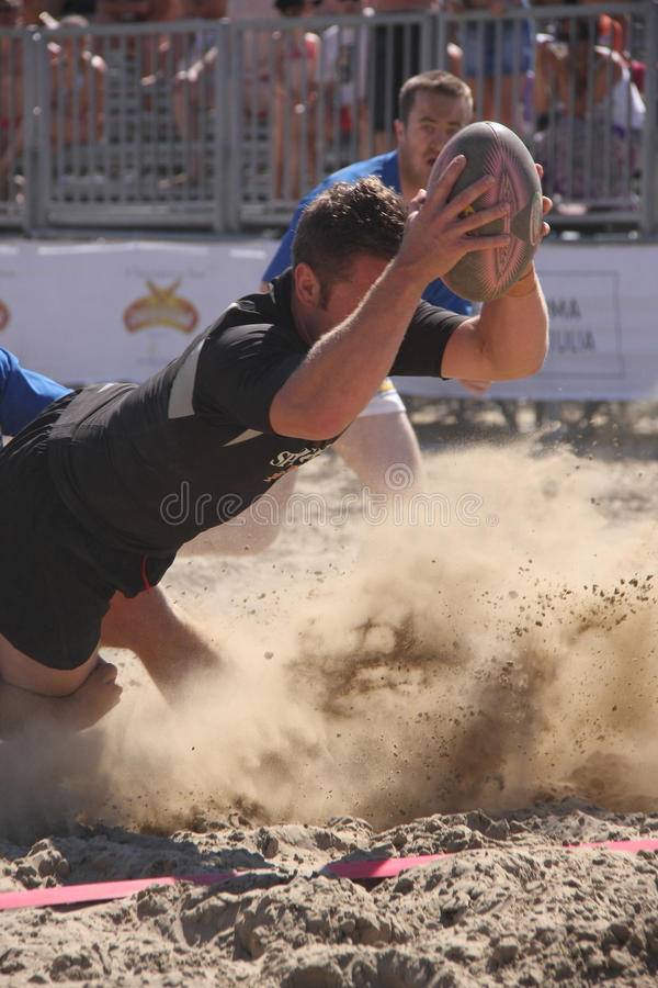 Download INTERNATIONAL BEACH RUGBY - NEW ZEALAND Editorial Photo - Image: 10314116