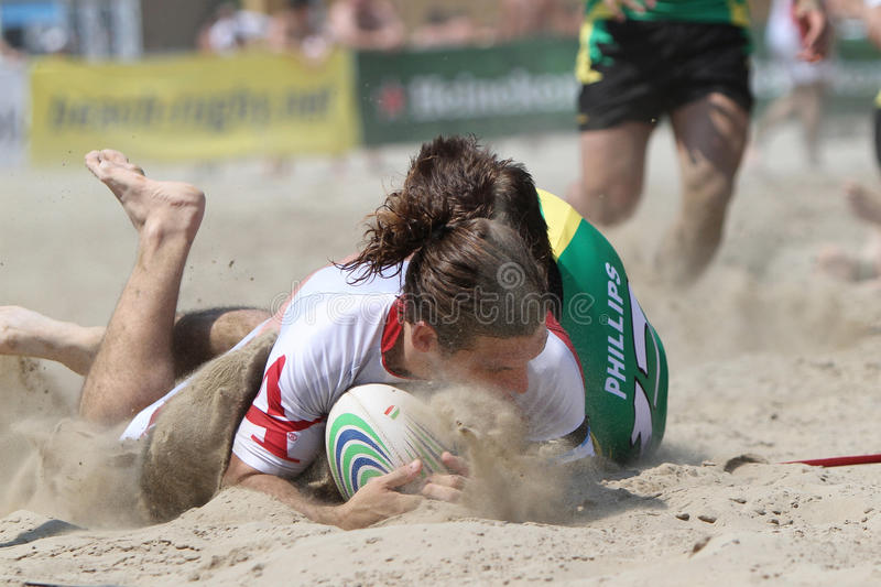 Download International Beach Rugby Tournament Editorial Photography - Image: 16632967