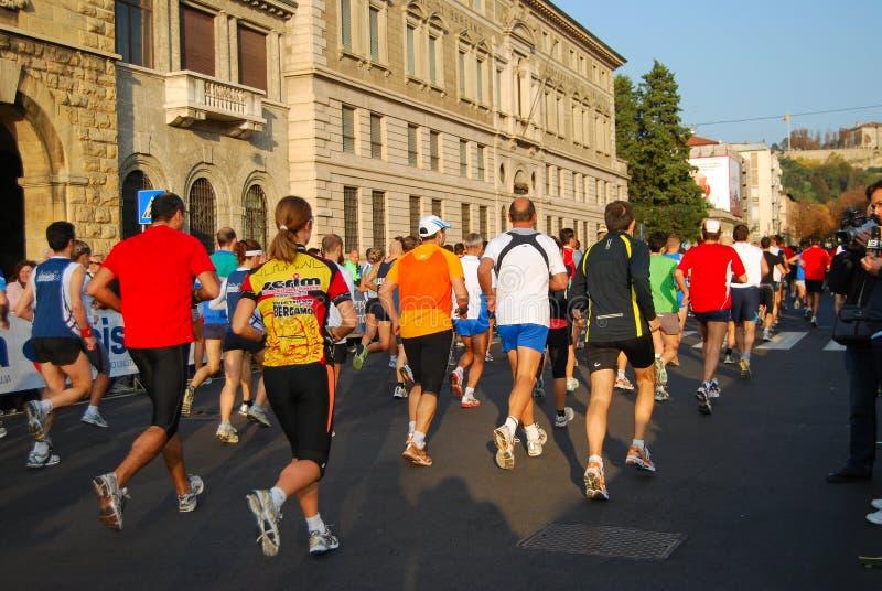 International Bergamo Marathon Editorial Photo