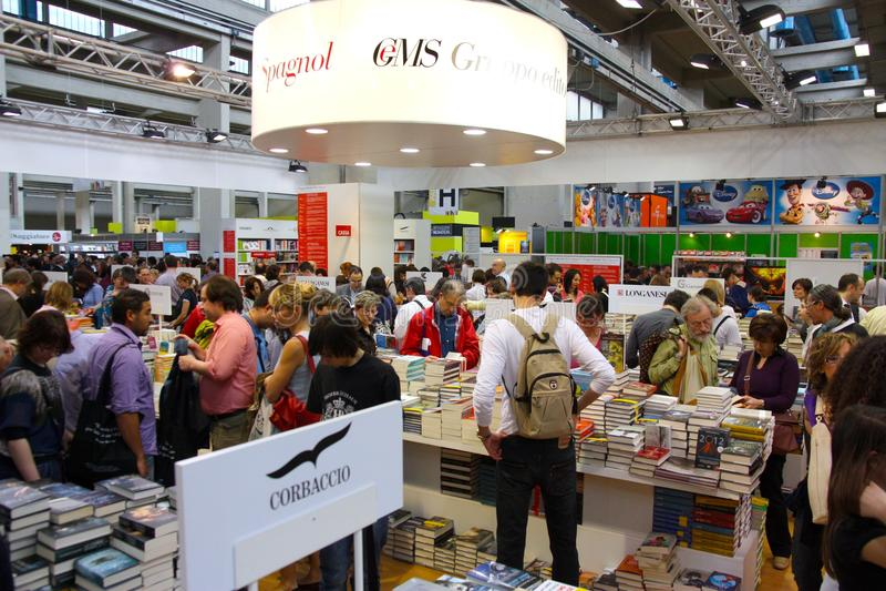 International Book Fair (Salone del Libro) Turin stock photography