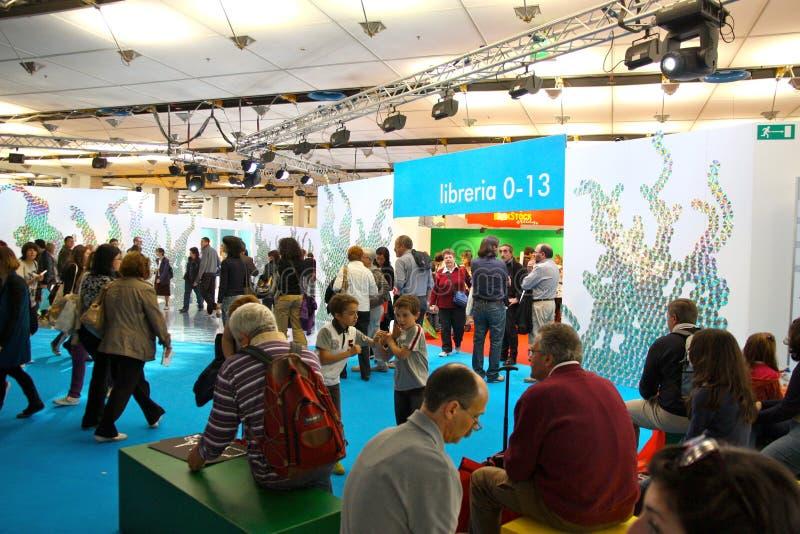 International Book Fair (Salone del Libro) Turin stock image