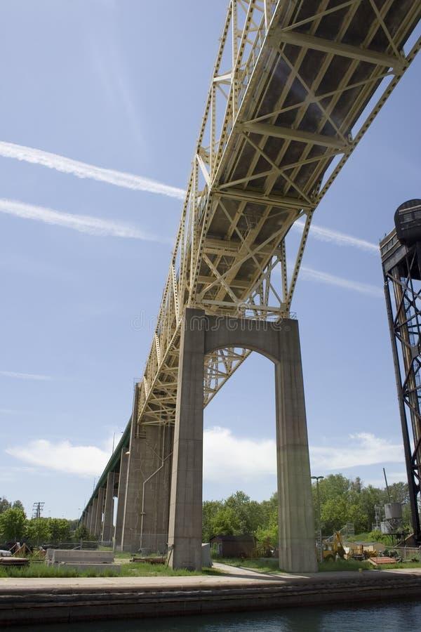 International bridge stock images