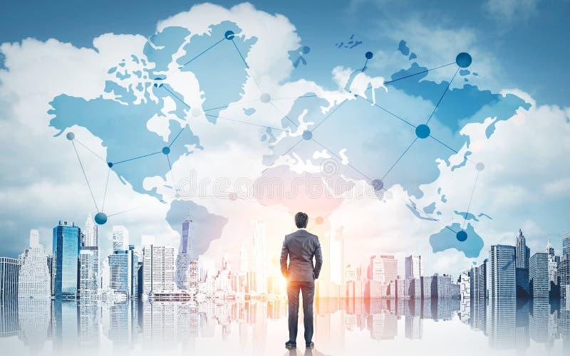International business concept stock image