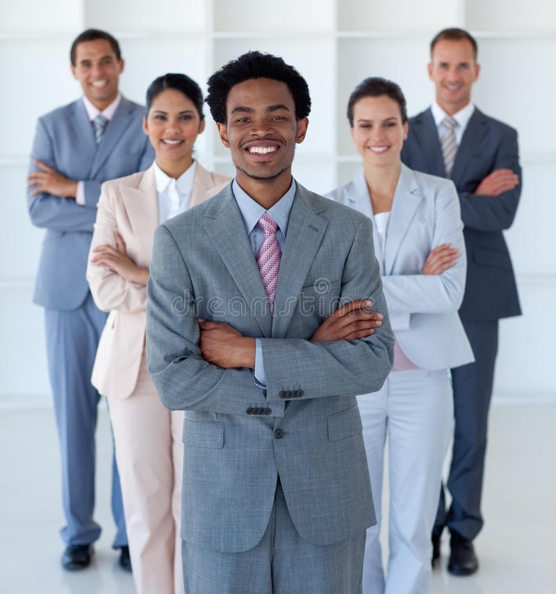 Download International Business Team In Office Stock Image - Image: 11371613